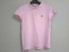 Lacoste(ラコステ) 半袖ポロシャツ レディース美品  ピンク