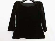 フォクシーニューヨーク 七分袖カットソー サイズ40 M レディース 黒
