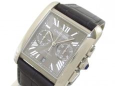 Cartier(カルティエ) 腕時計 タンクMCクロノグラフ W5330008 メンズ