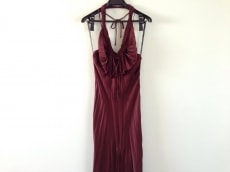 パオラ フラーニ ドレス サイズ46(I) L レディース ボルドー