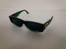 ブルガリ サングラス美品  ブルガリブルガリ 805 グリーン×黒