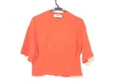 エムエスジィエム 半袖Tシャツ サイズS S レディース美品  オレンジ