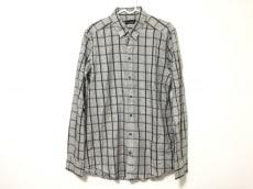 ドルチェアンドガッバーナ 長袖シャツ メンズ美品  グレー×黒×白