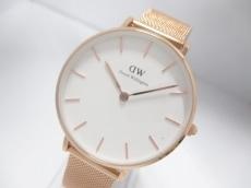 ダニエルウェリントン 腕時計美品  B32R1 レディース 白