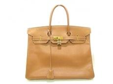 HERMES(エルメス) ハンドバッグ バーキン35 ゴールド ゴールド金具