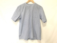 サカイ 半袖カットソー サイズ2 M レディース ブルー×白 ストライプ