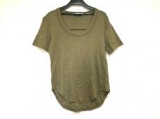 エムフィル 半袖Tシャツ サイズ38 M レディース美品  ダークグリーン