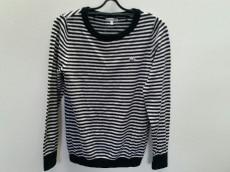 ラコステ 長袖セーター サイズ44 L レディース 黒×アイボリー