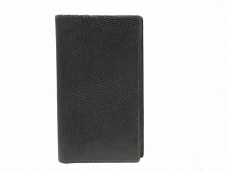 HERMES(エルメス) 手帳 ヴィジョン 黒 リザード