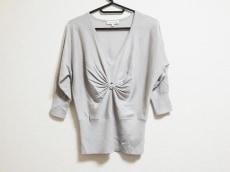 CELINE(セリーヌ) 七分袖セーター サイズS レディース ベージュ