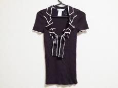 CELINE(セリーヌ) 半袖セーター サイズM レディース リボン