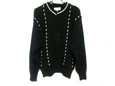 Chloe(クロエ) 長袖セーター サイズ11 M レディース美品  黒 刺繍