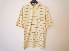 ラコステ 半袖ポロシャツ サイズ1 S メンズ イエロー×ネイビー