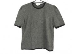 CELINE(セリーヌ) 半袖セーター レディース グレー×黒