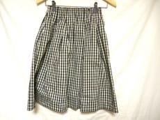 フォクシーニューヨーク スカート サイズF レディース 黒×白