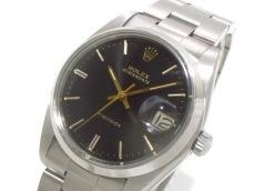 ROLEX(ロレックス) 腕時計美品  オイスターデイト 6694 メンズ 黒