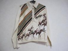 HERMES(エルメス) 長袖ポロシャツ サイズ42 L レディース