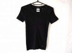 CHANEL(シャネル) 半袖セーター サイズ42 L レディース 黒