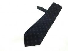 FENDI(フェンディ) ネクタイ メンズ美品  黒×ダークグレー