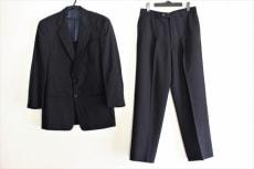 アルマーニコレッツォーニ シングルスーツ メンズ 黒