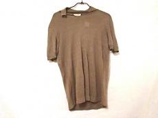 HERMES(エルメス) 半袖セーター サイズM メンズ美品  ダークベージュ