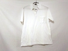 HERMES(エルメス) 半袖ポロシャツ サイズM メンズ美品  白