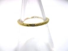 アーカー リング美品  メテオール AB-1036 K18YG×ダイヤモンド