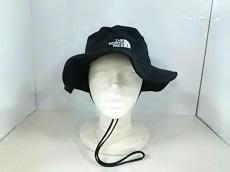 ノースフェイス 帽子 L美品  黒 メッシュ ナイロン×ポリエステル