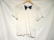MUVEIL(ミュベール) 半袖カットソー サイズ36 S レディース 白×黒