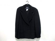 CHANEL(シャネル) ジャケット サイズ48 XL レディース 黒 ツイード