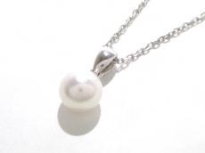 mikimoto(ミキモト) ネックレス美品  K18WG×パール 白