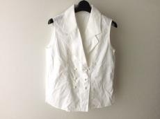 クリスチャンディオール ベスト サイズM レディース美品  白 刺繍