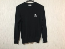 HYKE(ハイク) 長袖カットソー レディース美品  黒×白 ×adidas