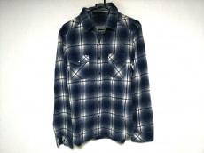 roar(ロアー) 長袖シャツ メンズ ブルー×白 チェック柄