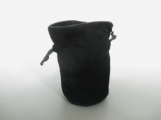 CHANEL(シャネル) ポーチ - 黒 巾着型/BEAUTE ベロア