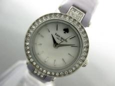 Kate spade(ケイト) 腕時計 0721 レディース ホワイトシェル
