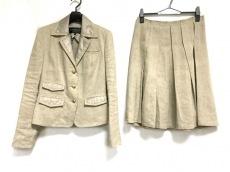 ボディドレッシングデラックス スカートスーツ サイズ38 M ベージュ