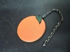 エルメス キーホルダー(チャーム) フルーツキーホルダー オレンジ