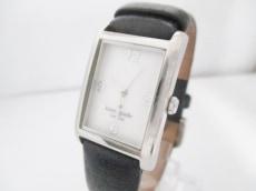 Kate spade(ケイト) 腕時計 0045 レディース 革ベルト 白