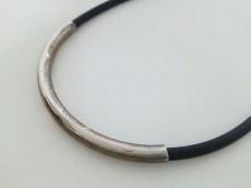 EMODA(エモダ) チョーカー ラバー×金属素材 黒×シルバー