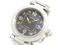Cartier(カルティエ) 腕時計 パシャCMM W31076M7 ボーイズ SS 黒