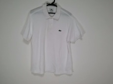 Lacoste(ラコステ) 半袖ポロシャツ サイズ4 XL メンズ 白