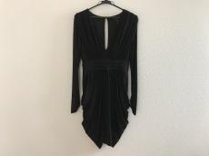 ビーシービージーマックスアズリア ドレス レディース 黒 ギャザー