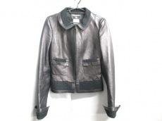 CHANEL(シャネル) ジャケット サイズ36 S レディース 黒 レザー