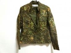 ハーディエイミス ジャケット サイズ44 L レディース美品  刺繍/花柄