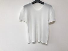 プリーツプリーズ 半袖Tシャツ サイズ3 L レディース 白 プリーツ