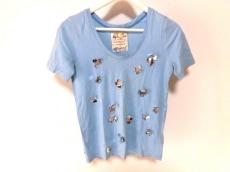 ミュベール 半袖Tシャツ サイズ38 M レディース スパンコール/ビーズ