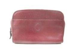 Cartier(カルティエ) セカンドバッグ マストライン ボルドー レザー