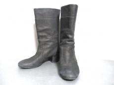 CHANEL(シャネル) ブーツ 37 1/2 レディース 黒 レザー