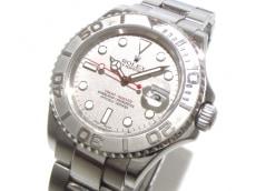 ロレックス 腕時計 ヨットマスターロレジウム 16622 メンズ シルバー